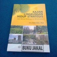BUKU KAJIAN LINGKUNGAN HIDUP STRATEGIS CHAY ASDAK UGM PRESS_al