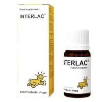 Interlac Oil Probiotic Drop 5ml for Infants