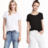 H&M Divided pocket tee