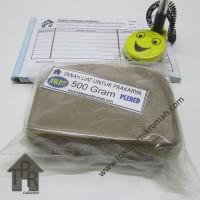 Tanah liat kualitas terbaik untuk prakarya / 500 gram - Plered.