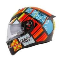 Helm Motor Fullface AGV K3 SV Top Elements Doff Murah Original