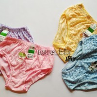 Size XL CD Celana Pakaian Dalam Anak Bayi Perempuan Kriwil Poligon