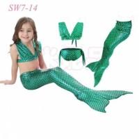jual beli baju mermaid duyung anak renang kostum jakarta APL2377