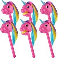 Educational Insights Rainbow Prancer Puppet Unicorn Pink - EI-1729C