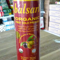 Promo minyak zaitun balsari organik 250 ml