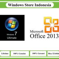Paket Murah Windows 7 dan Office 2013 Original License