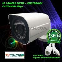 IPcam CCTV small NVSIP Outdoor 2Mp Support Mikrofon Original