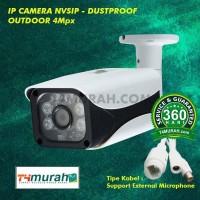 CCTV Ipcam NVSIP Outdoor 4Mp Support Microfon