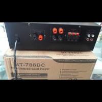 Betavo BT-788DC amplifier ampli profesional power mixer with usb/sd ca