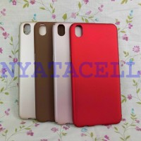 Hard Case Baby Skin Oppo F1+ Plus R9 Soft Touch Matte Dove Gea