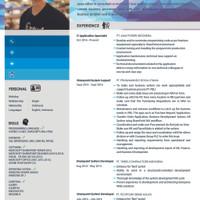Surat Lamaran Kerja / CV Template 105