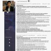 Surat Lamaran Kerja / CV Template 104
