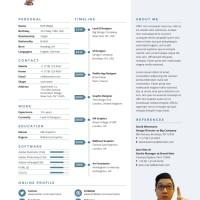Surat Lamaran Kerja / CV Template 102