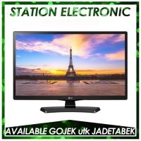 "LG LED Monitor TV 24"" 24MT48A - Hitam"