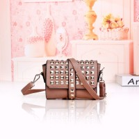 Tas Shoulder Bag Stud Pink Sling Bag Selempang Murah Fashion