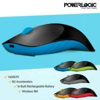 Powerlogic Air Shark Wireless Mouse - Blue