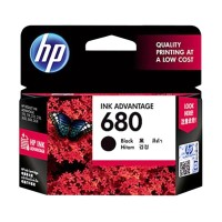 Tinta HP 680 Black Original Ink Cartridge - For 2135, 3635