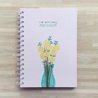 Buku persiapan nikah / wedding planner - I'm Getting Married Pink