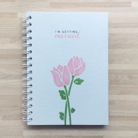 Buku persiapan nikah / wedding planner - I'm Getting Married Biru