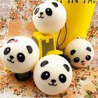 Squishy mini panda bun ( in white )