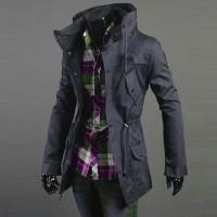 Jual Jaket J-068 Grey/HRDMX/Chino/Jaket Pria Korea Jepang Keren Murah Murah