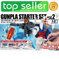 HG GUNPLA STARTER SET VOL 2 + GUNDAM MARKER LINING / HGUC