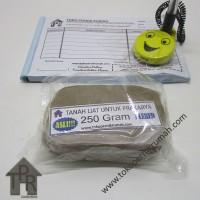Tanah liat kualitas terbaik untuk prakarya / 250 gram - Plered.