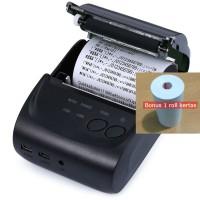 Jual Mini Portable Bluetooth Thermal Receipt Printer Zjiang Android iOS Murah