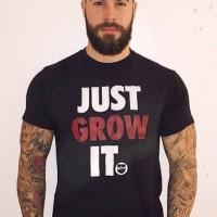 KAOS TSHIRT JUST GROW IT