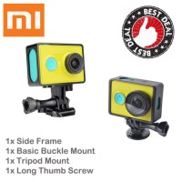 Jual Koleksi terbaru                Paket Xiaomi Yi Side Frame Basic Buckle Murah