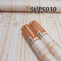 WALLPAPER STICKER 45CMX5M-WPS030- BROWN STRAIT N VECTOR