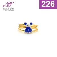 Cincin Anak Karakter Lapis emas Perhiasan imitasi Yaxiya Jewelry 226