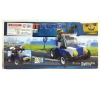 Lego SWAT FORCE - Drumbeating Police Car / lego murah 20025-2