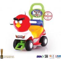 Jual Mobil Dorong/Tarik Anak Karakter Angry Bird Premium Merk SHP Toys Murah