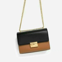 TAS WANITA ORIGINAL CHARLES AND KEITH TWO TONE