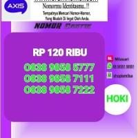 Nomor Cantik Axis Seri Triple top rapih 111 222 777 SL 208 Bln9