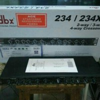 CROSSOVER 3 WAY DBX 234XL HITAM
