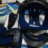 busa helm ink cx22 atau ink topi komplit plus tali