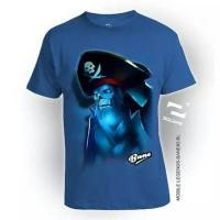 Jual T Shirt 3D Anak Usia 2 - 8 Tahun Katun Combed By Square Murah