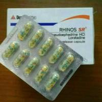 RHINOS SR, FLU PILEK,JUAL PER STRIP