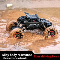 RC ROCK CRAWLER ALLOY NEW VERSION 4WD 2,4ghz OFFROAD MOBIL REMOTE