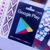 HEMAT Voucher Belanja Google Play BARU