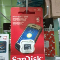 MICRO SD CARD SANDISK 32 GB KARTU MEMORY 32GB CLASS 10