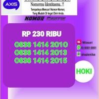 Nomor Cantik Axis Seri Tahun pembawa hoki 2010 2013 2015 SL 227 Bln9