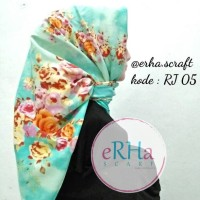 Jual RJ 05 hijab jilbab kerudung segiempat satin twill adabia Murah