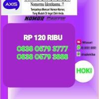 Nomor Cantik Axis Seri Triple top rapih 777 888 SL 210 Bln9