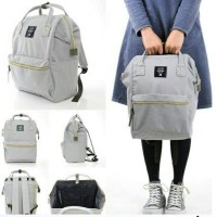 Jual Tas Ransel Backpack Fashion Bahan Canvas Ukuran 41cm x 31cm 5 Warna Murah