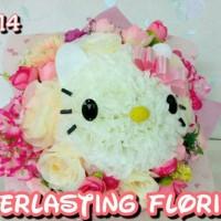Jual Bucket Hello Kitty (A914) Buket Bunga Boneka Bouquet Wedding Wisuda Murah