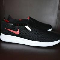 Sepatu Sport Santai Nike Roshe Run Slip On Grade Ori - RR 25