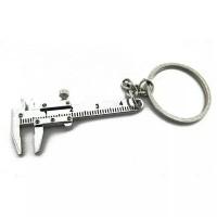 Gantungan kunci Caliper Vernier Souvenir Hiasan Pajangan Unik Aneh